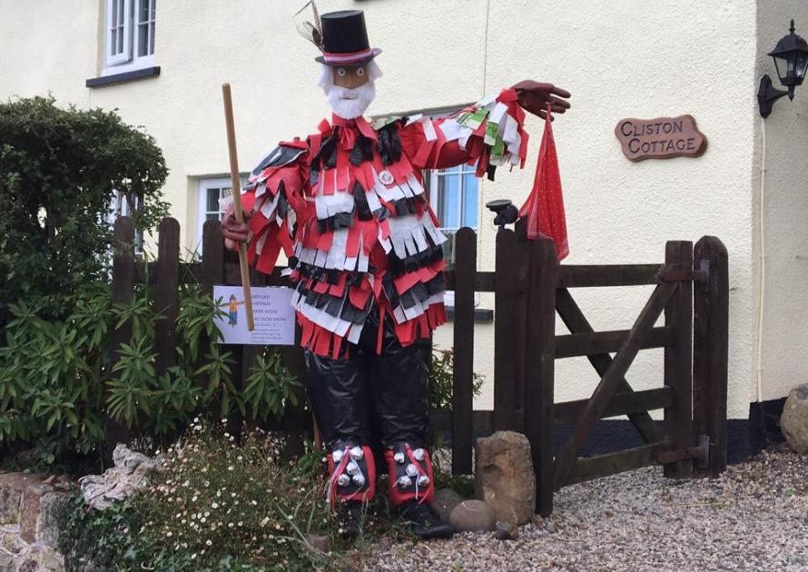 Morris Dancer Scarecrow