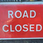 Picture of a Road Closed sign