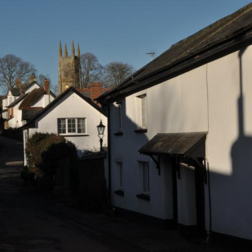 Sampford Courtenay VIllage