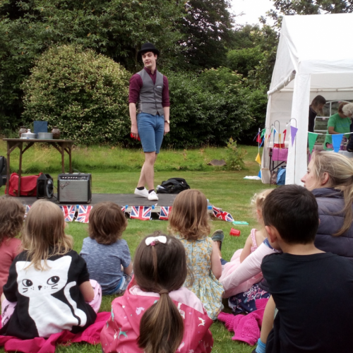 Alfie, children's entertainer