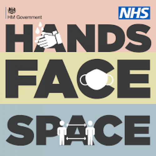 Government campaign for Hands Face Space